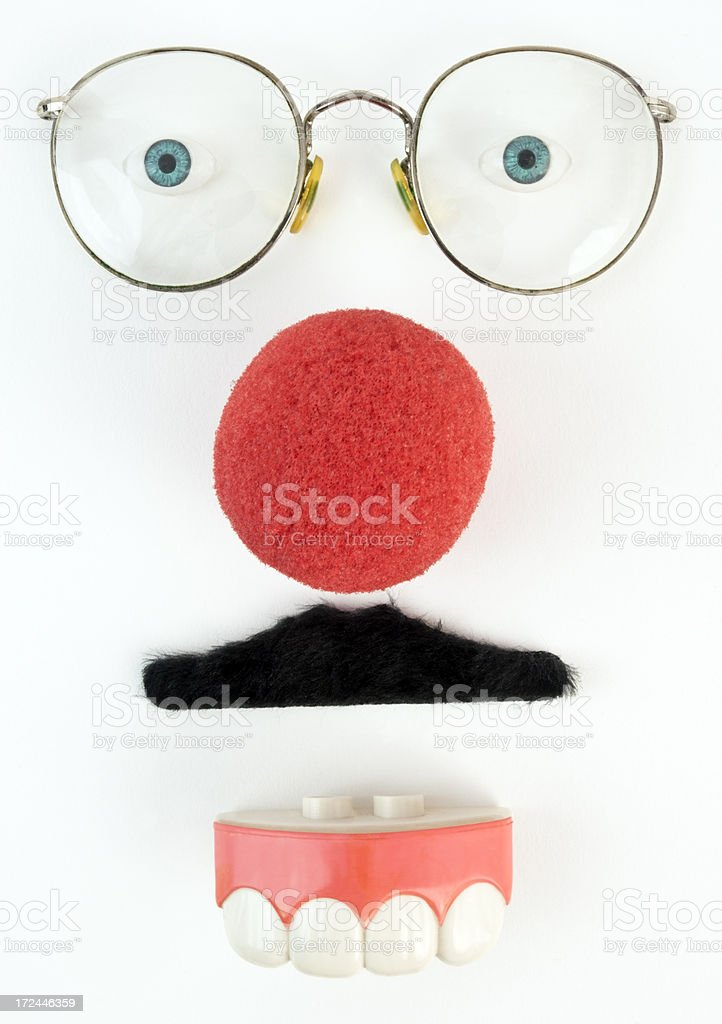 Goofy Expression royalty-free stock photo