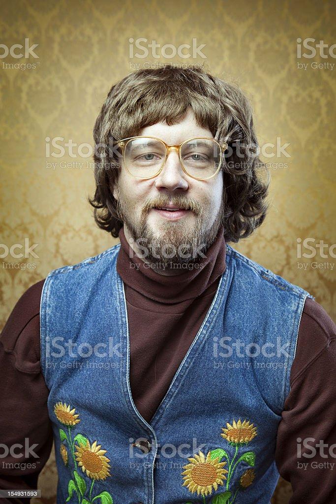 Goofy hippies professeur - Photo