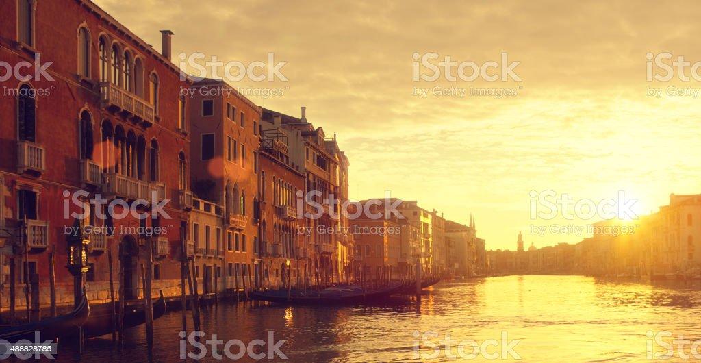 goog morning Venice stock photo