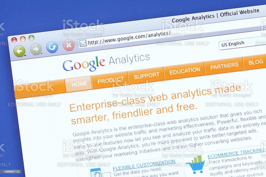 Google Analytics – Foto