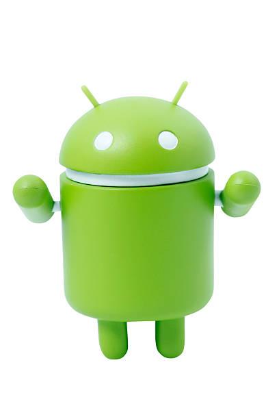 Google Android Robot Mascot stock photo