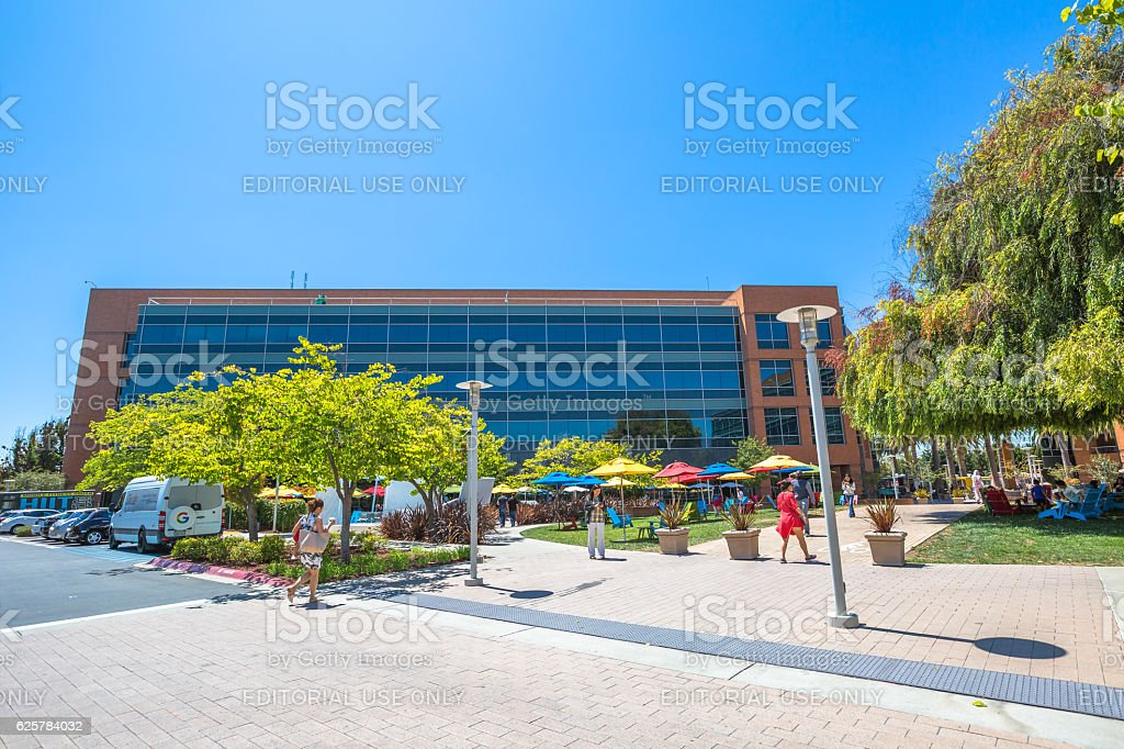 Google Building 1950 stock photo