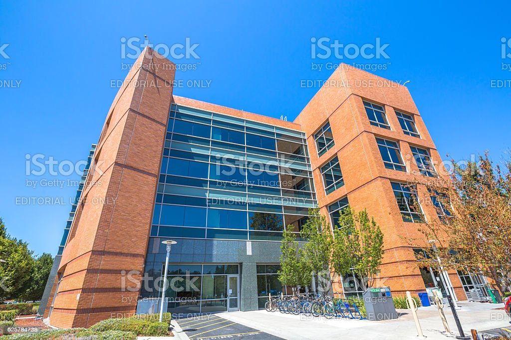 Google building California stock photo