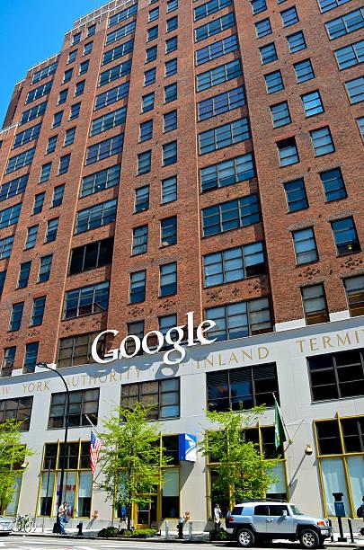Google Building, Chelsea, New York City stock photo