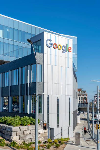 Google Canada Kitchener-Waterloo office buildings stock photo