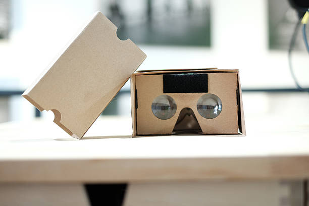 Google Pappe Virtuelle Realität Betrachter eröffnet – Foto