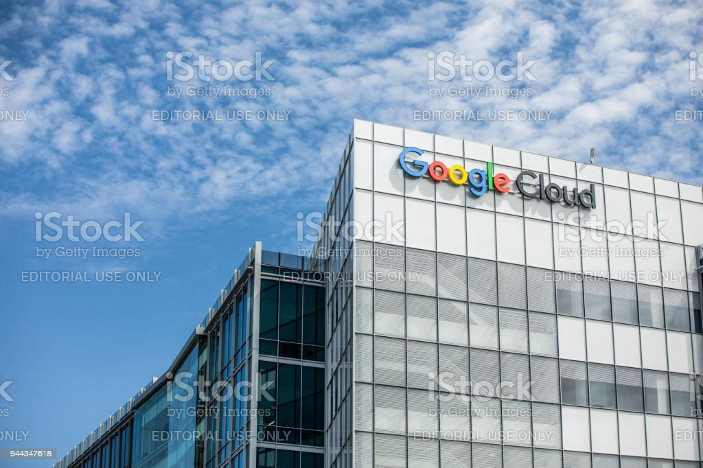 Google Cloud Buildings In Silicon Valley Stock Photo ...