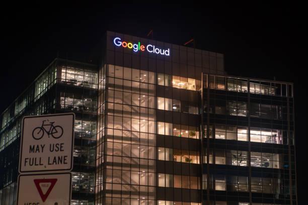 Google Cloud Office - foto stock