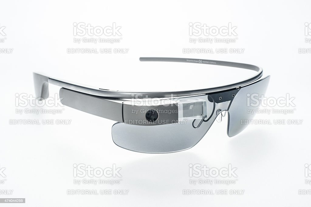 Google Glass stock photo