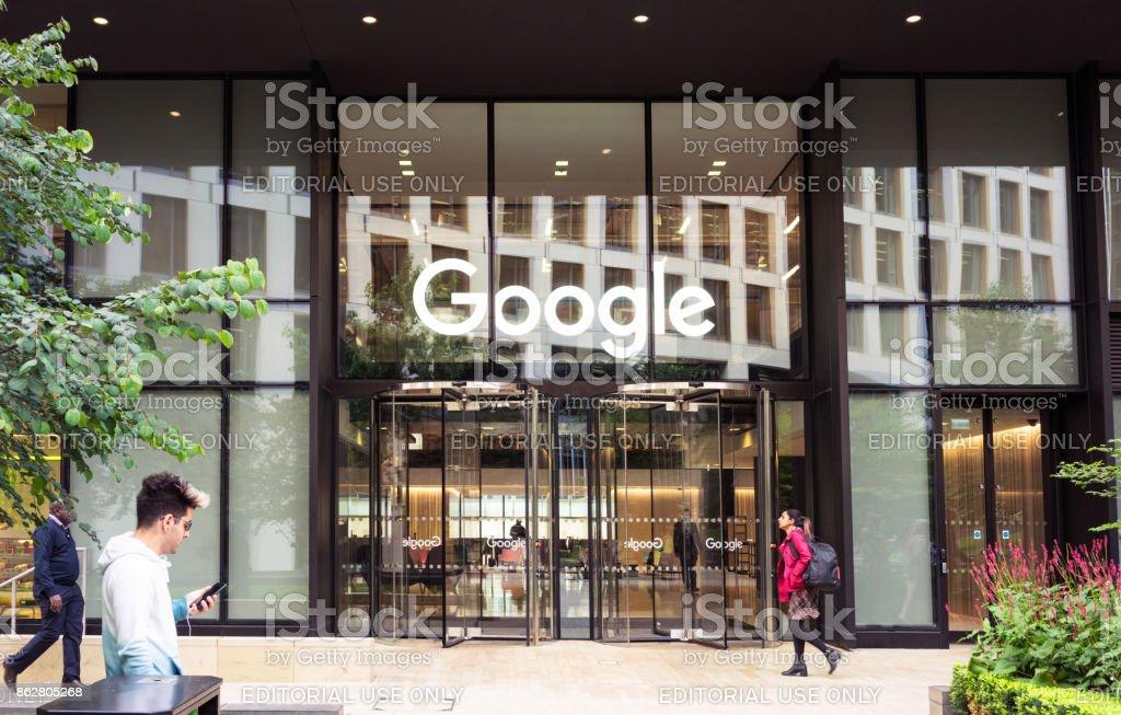 Google-Zentrale in London – Foto
