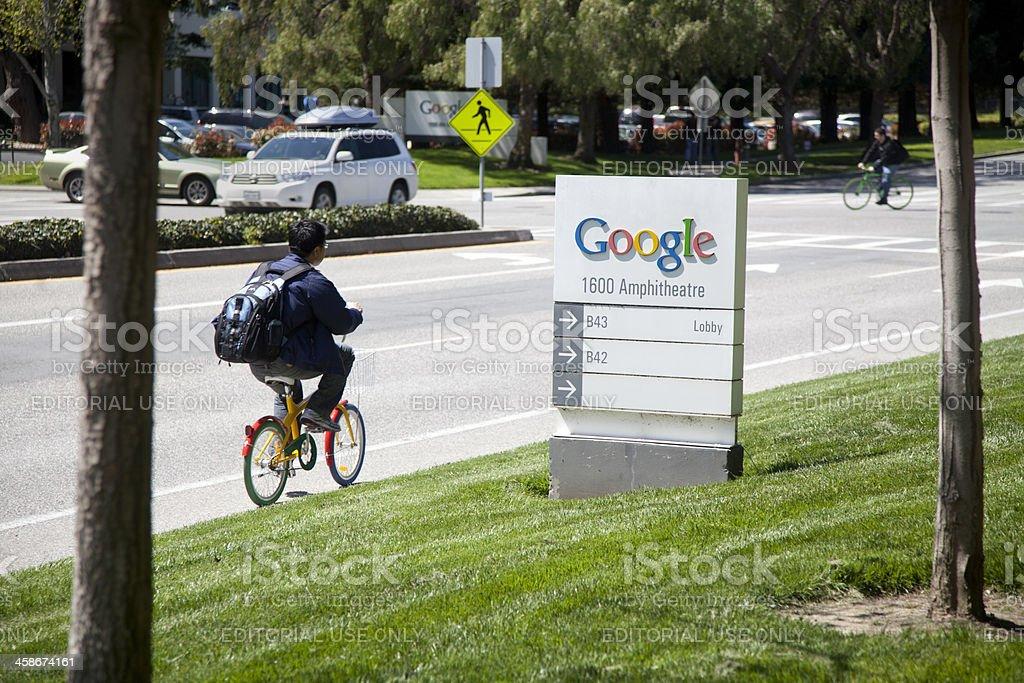 Google Headquarters royalty-free stock photo