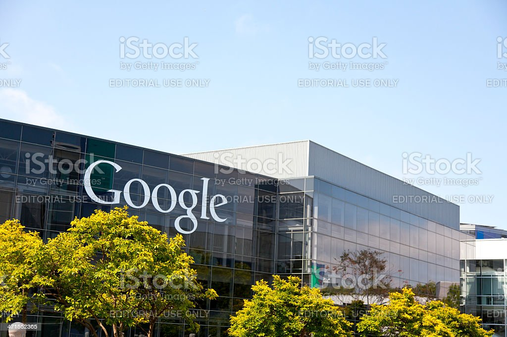 Google Headquarters royalty-free stock photo