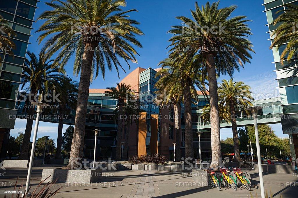 Quartier generale di Google - foto stock