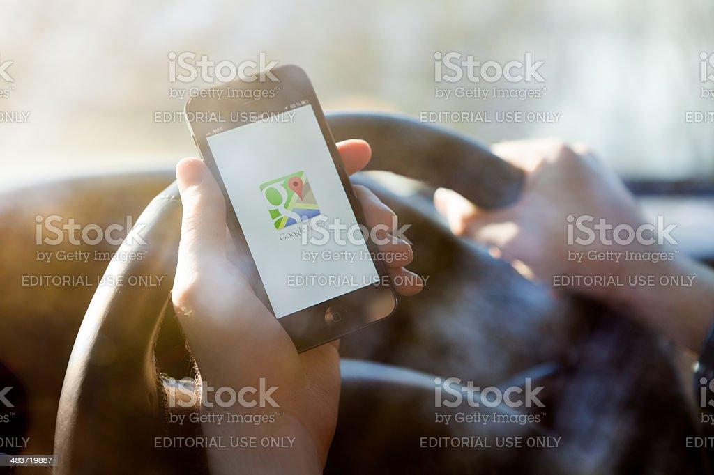 Google Maps na iPhone a 5