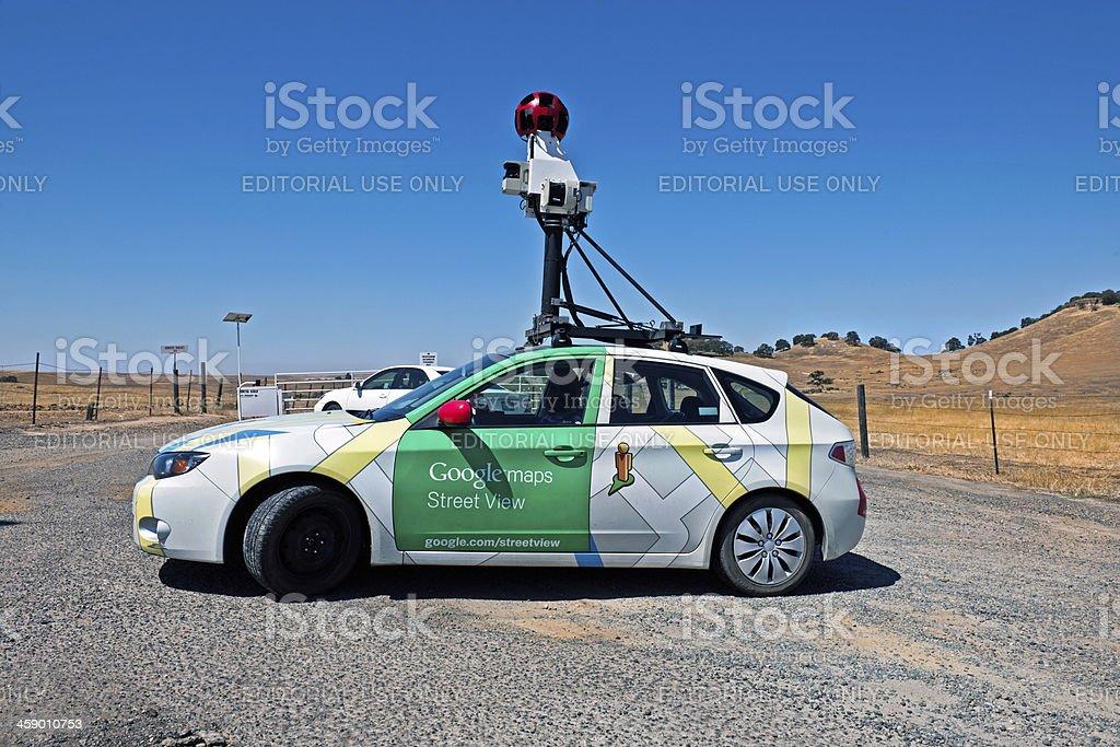 Google Maps Street View Car Mariposa California Usa Stock ... on google maps usa states, map of california, google maps california coast,