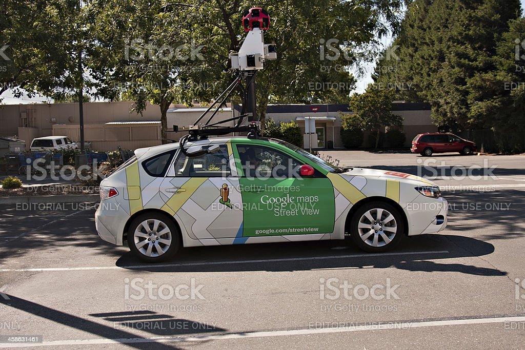 Google Maps Street View Car royalty-free stock photo