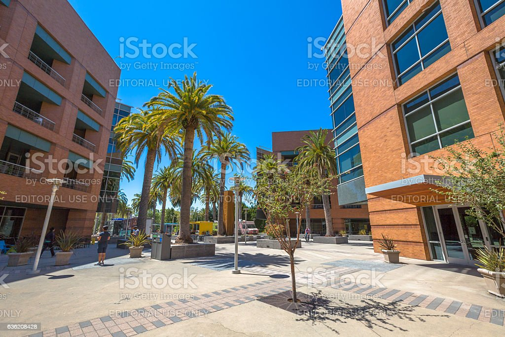 Google Mountain View stock photo
