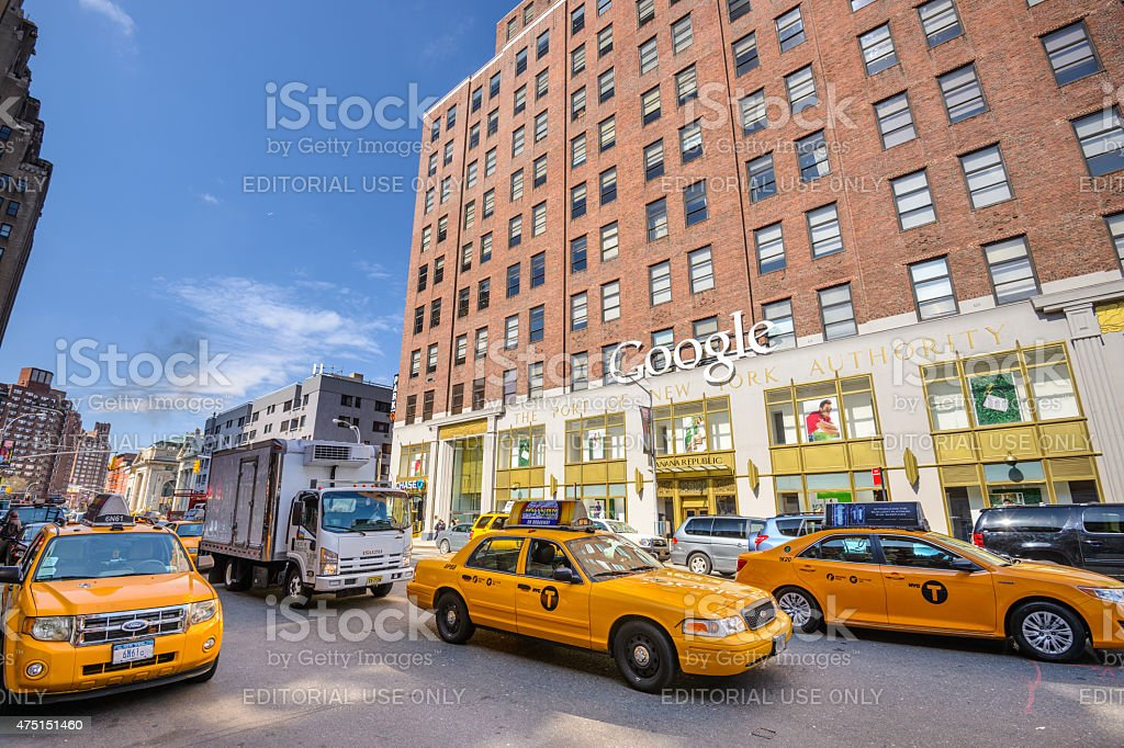 Google Offices stock photo