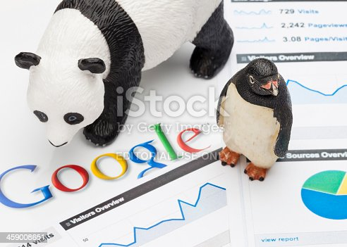 istock Google Panda and Penguin 459008651
