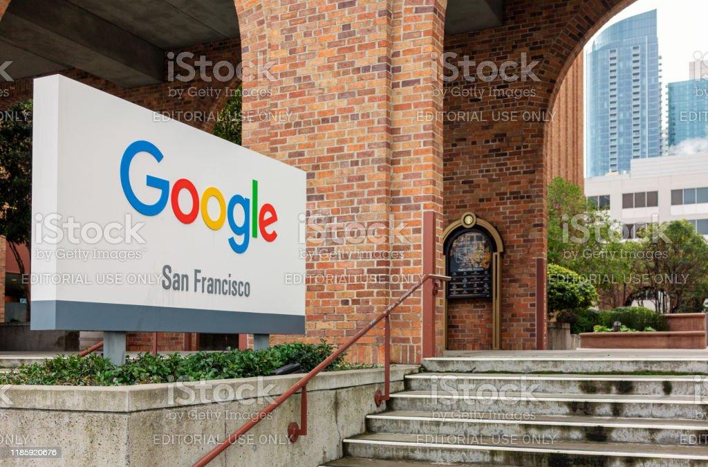 Google San Francisco - Foto stock royalty-free di Affari