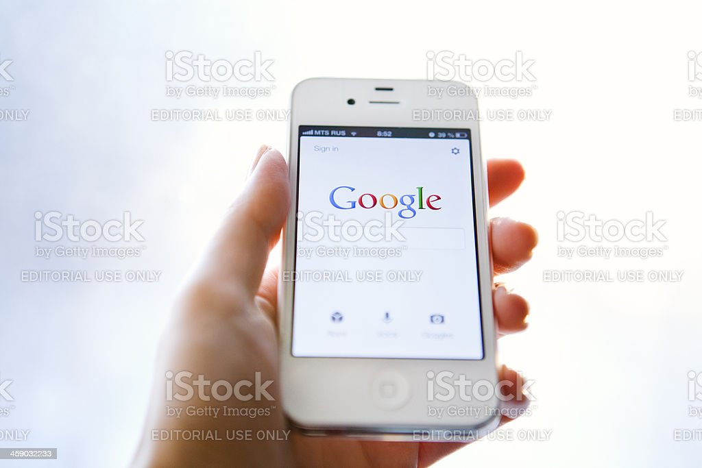 Google Search stock photo