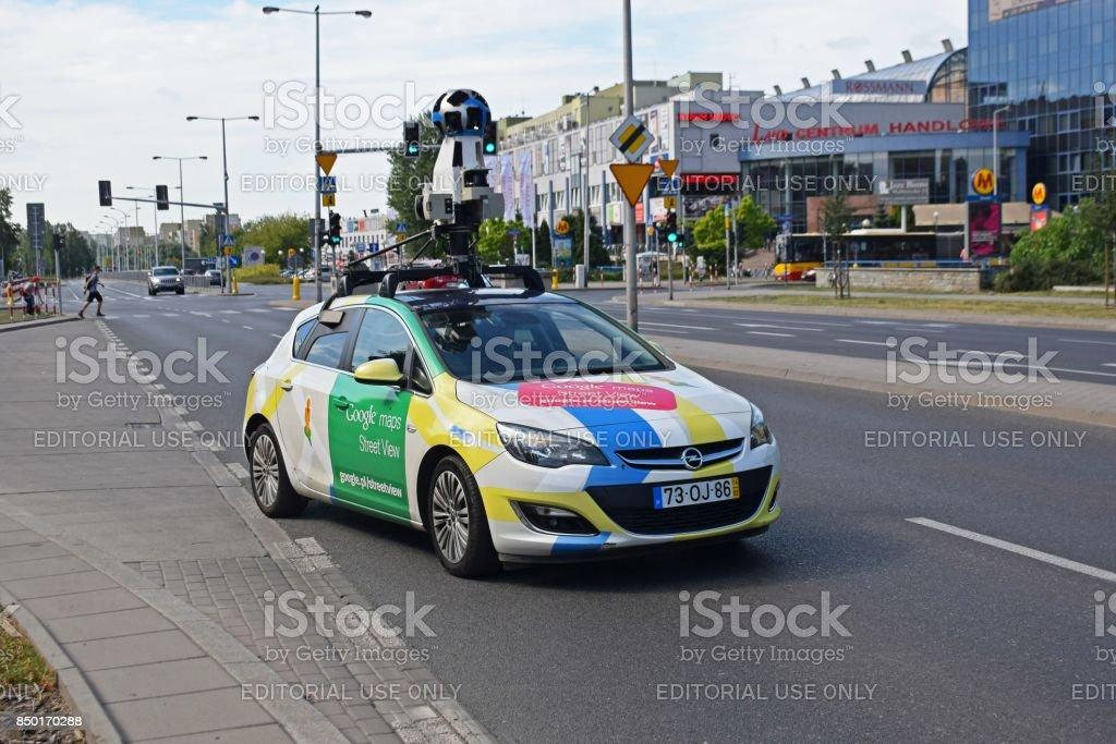Photo Libre De Droit De Voiture De Google Street View En Mouvement
