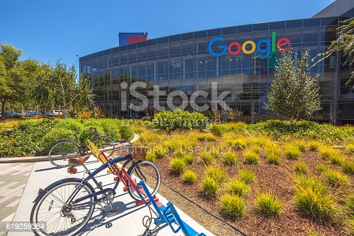 istock Googleplex bicycle Mountain View 619259384