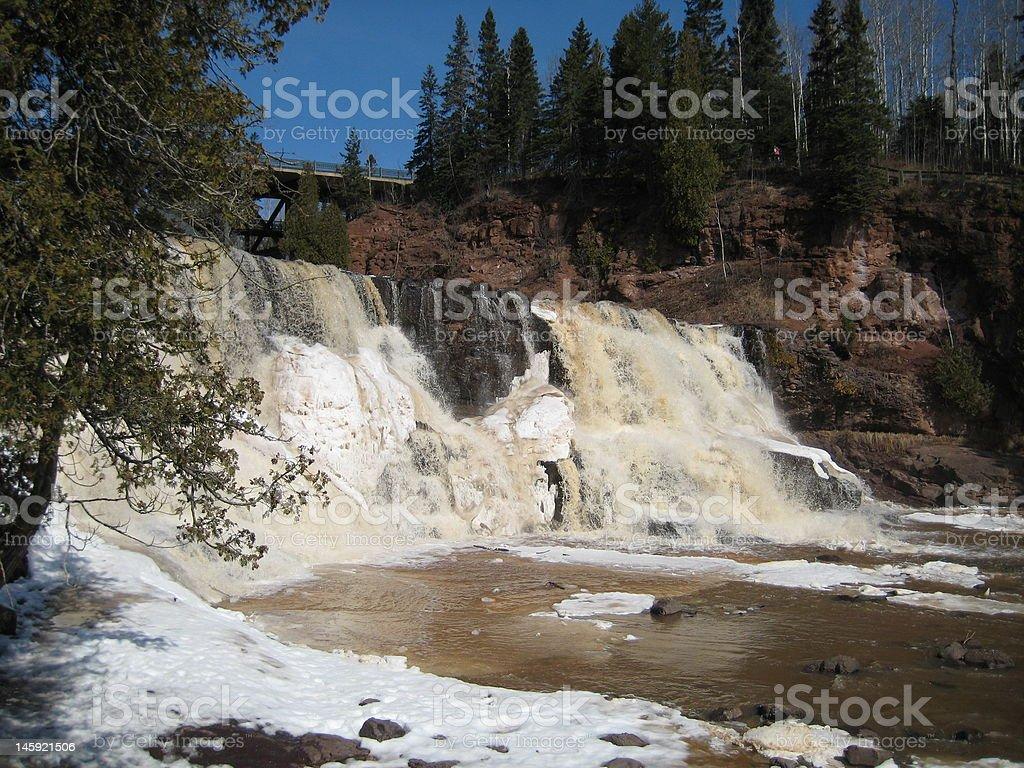 Goosberry Falls royalty-free stock photo