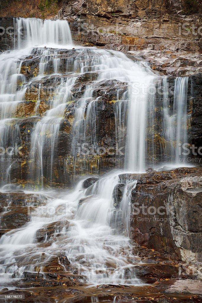 Gooseberry Falls royalty-free stock photo