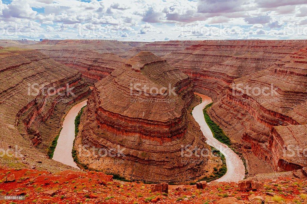 Goosenecks State Park, State Reserve, Utah, USA stock photo
