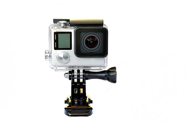 gopro action camera. - gopro stockfoto's en -beelden