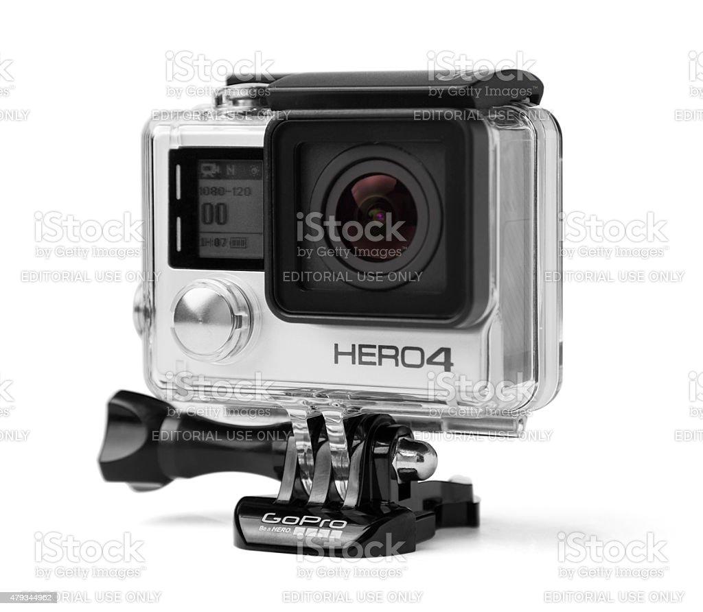 GoPro Hero 4 Black Edition stock photo