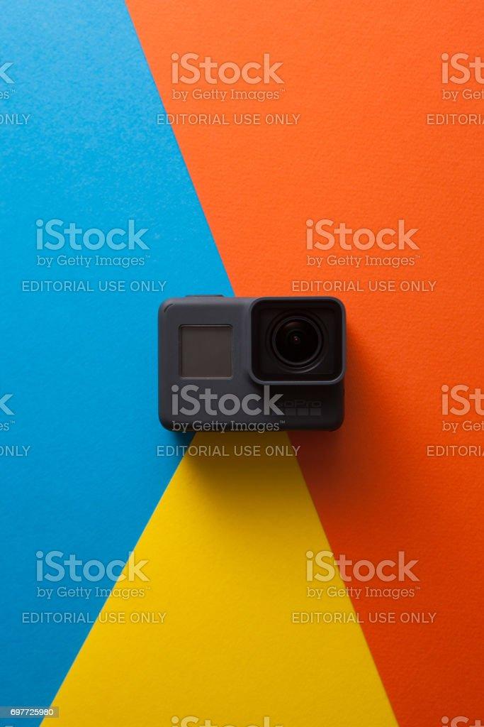 GoPro HERO 5 digital action camera stock photo