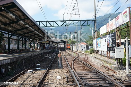 istock Gora Station, Hakone, in Kanagawa 1267690899