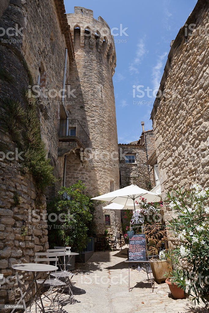 Gordes in Provence stock photo