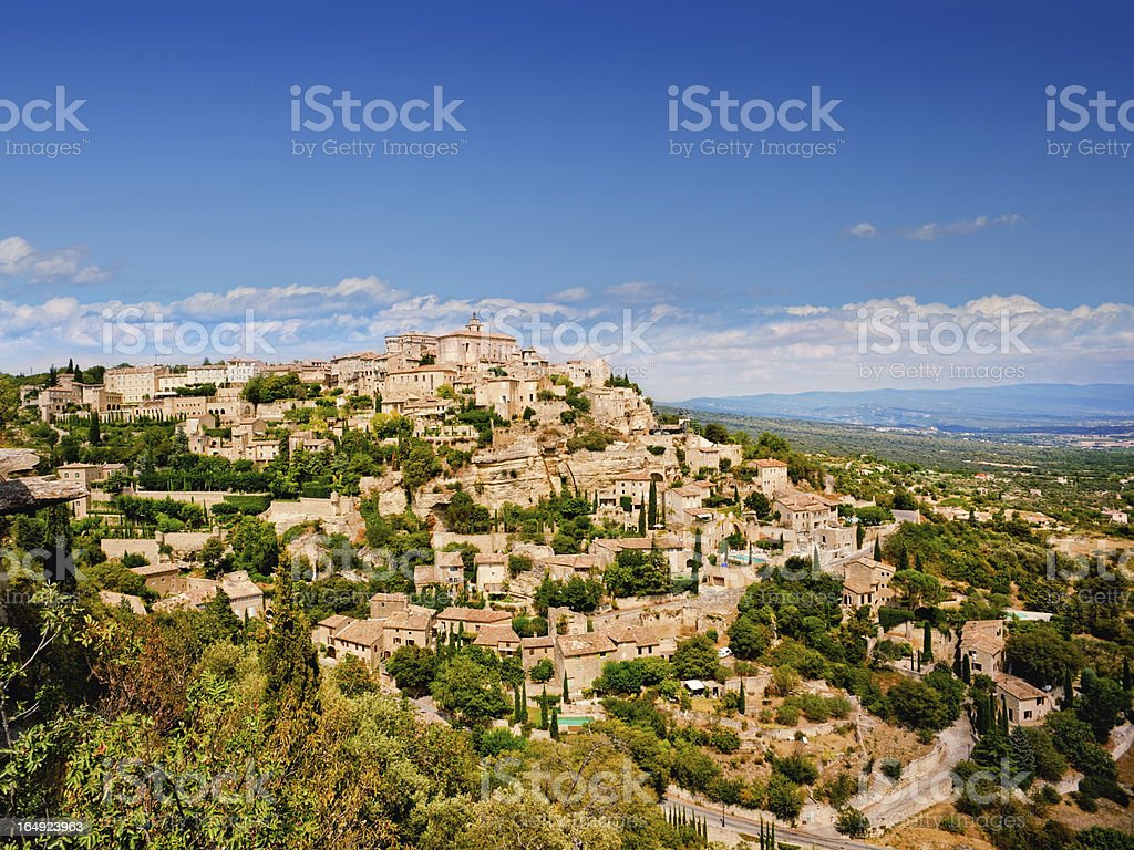 Gordes in Vaucluse royalty-free stock photo