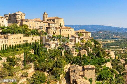 istock Gordes medieval village in Southern France 160377644