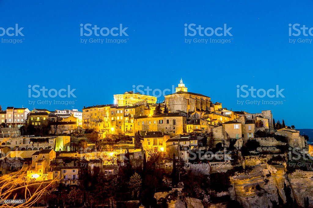 Gordes, Provence, France stock photo