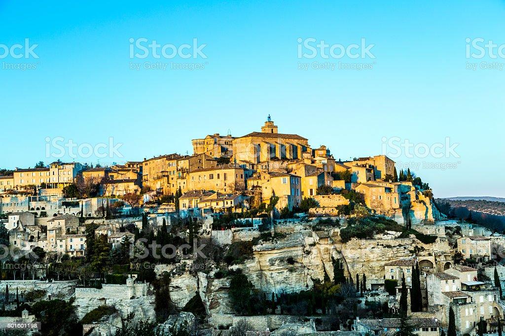Gordes, Provence, France stock photo