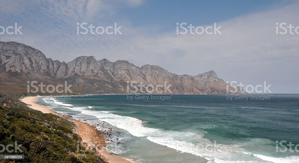 Gordons Bay near Cape Town South Africa stock photo
