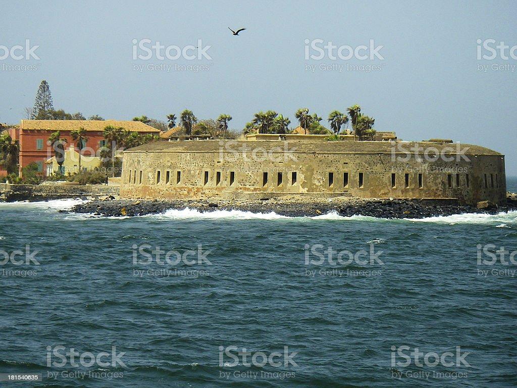 Goree Island Fortress Slave Entrepot Dakar Senegal West Africa stock photo