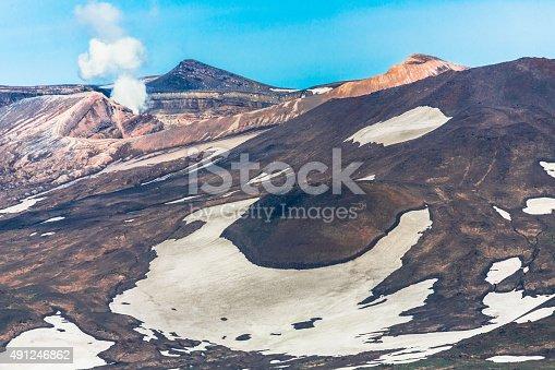 istock Gorely Volcano in Kamchatka 491246862