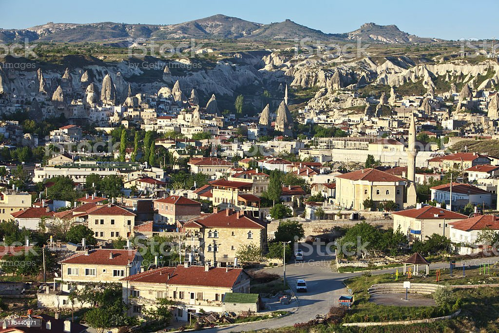 Goreme Cappadocia Turkey royalty-free stock photo