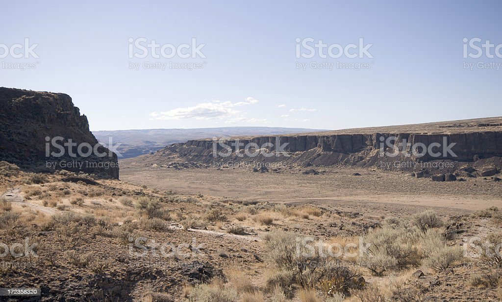 Gorge at Vantage royalty-free stock photo