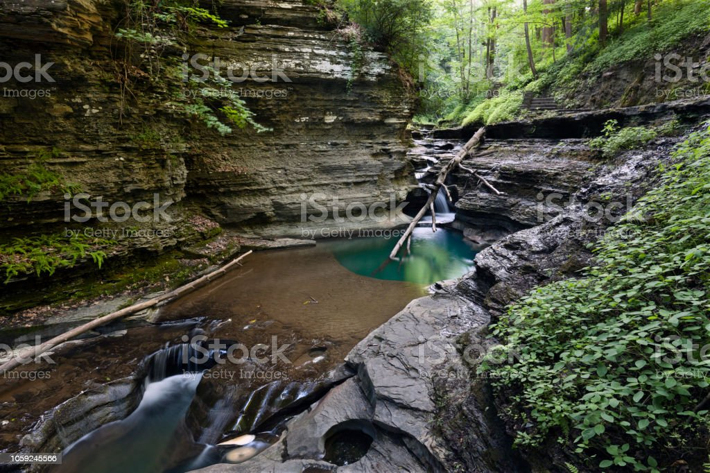 Gorge Pool stock photo
