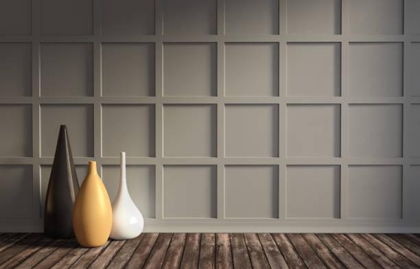 underbar lägenhet med klassiska väggpanel och inredning. - solar panel bildbanksfoton och bilder