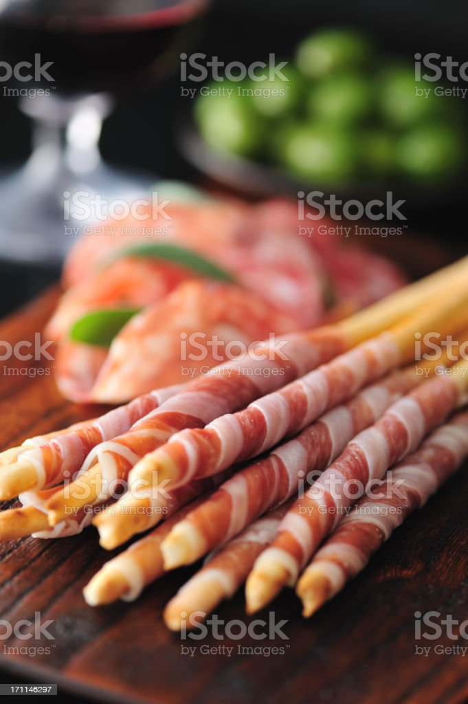Gorgeous Appetizers stock photo