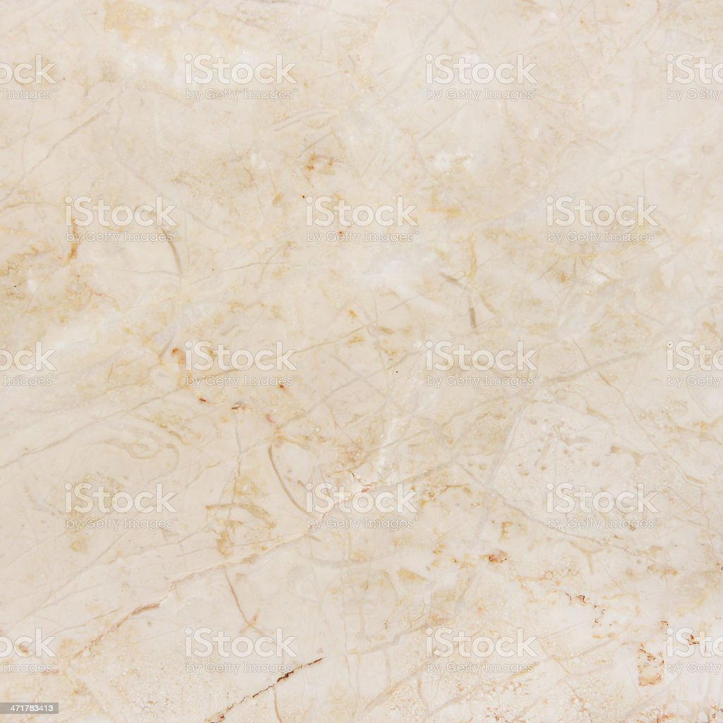 Gorgeous beige marble with natural pattern. stock photo
