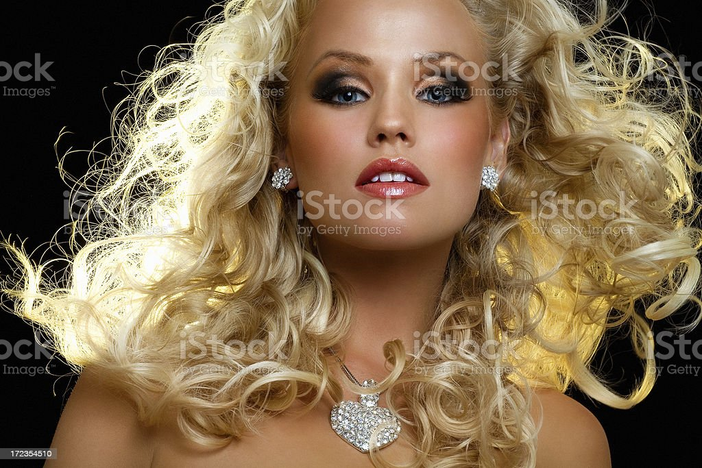 Gorgeous Blond royalty-free stock photo