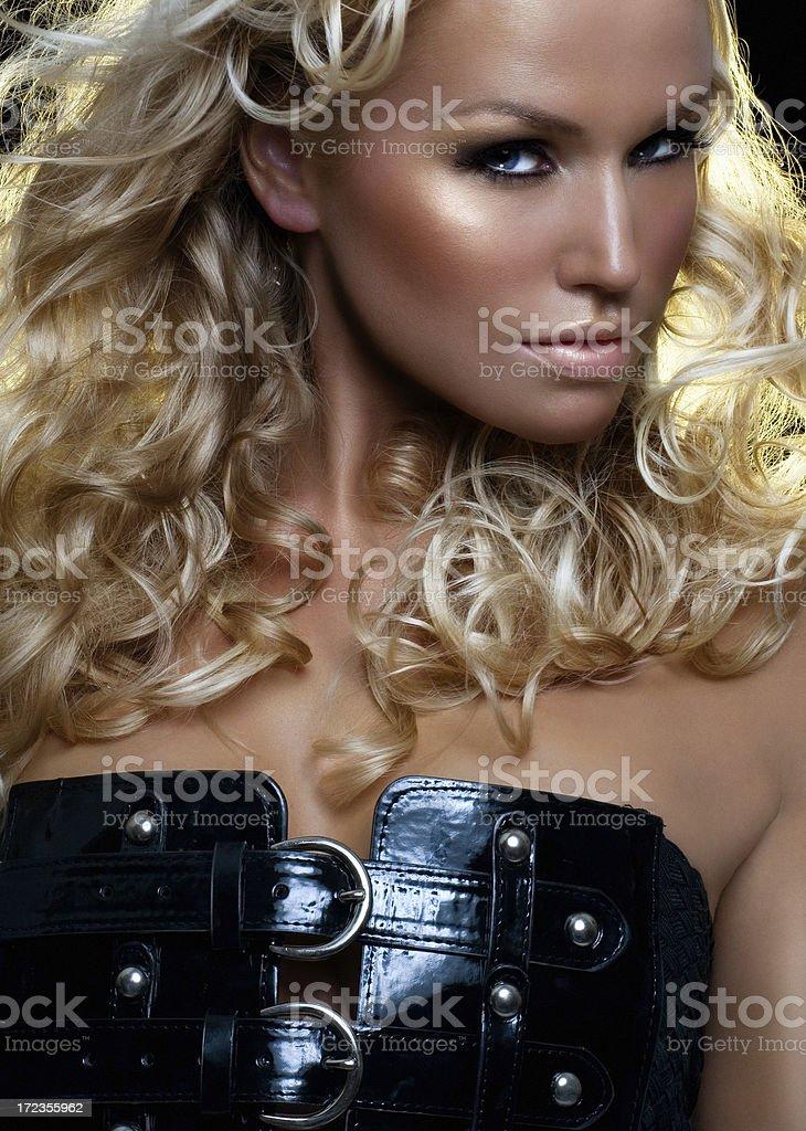 Hermosa rubia foto de stock libre de derechos